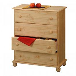 Idea Prádelník 4 zásuvky 8014