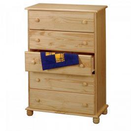 Idea Prádelník 5 zásuvek 8015