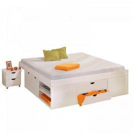 Idea Dvoulůžková postel KLASA 180x200 bílá