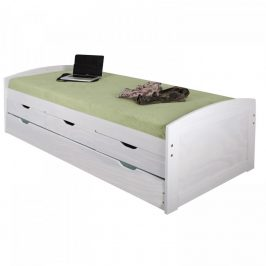 Idea Jednolůžková postel MARINELLA bílá