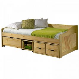 Idea Jednolůžková postel se zásuvkami MAXIMA