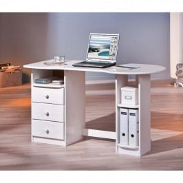 Idea PC stůl TOUCHROUND bílý