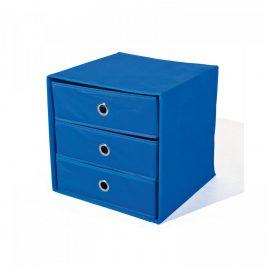 Idea Skládací box WILLY modrý Úložné boxy