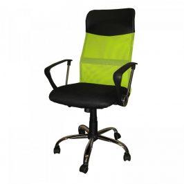 Idea Kancelářské křeslo PRESIDENT zelené K6