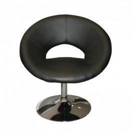 Idea Křeslo MONTE CARLO černé K99 Konferenční židle