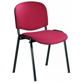 Alba Konferenční židle Iso čalouněná - Suedine 34/černá kostra