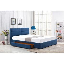 Halmar Postel Merida 160x200 modrá