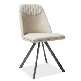 Casarredo Jídelní čalouněná židle MILTON béžová