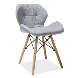 Casarredo Jídelní židle MATIAS II šedá látka