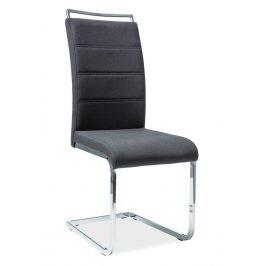 Casarredo Jídelní čalouněná židle H-441 černá látka