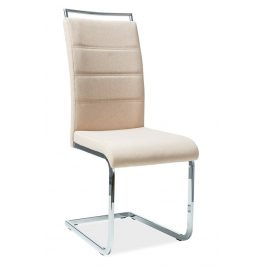 Casarredo Jídelní čalouněná židle H-441 béžová látka Židle do kuchyně