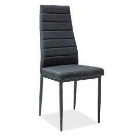 Casarredo Jídelní čalouněná židle H-265 černá