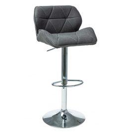 Casarredo Barová židle C-122 tmavě šedá