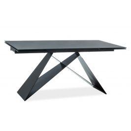 Casarredo Jídelní stůl rozkládací WESTIN černá/černý mat