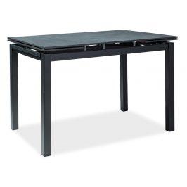 Casarredo Jídelní stůl TURIN rozkládací černý
