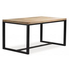 Casarredo Jídelní stůl LORAS A 150x90 dýha dub/černá