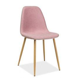 Casarredo Jídelní židle DUAL růžová Židle do kuchyně