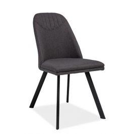 Casarredo Jídelní čalouněná židle PABLO šedá