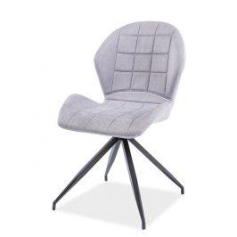 Casarredo Jídelní čalouněná židle HALS II světlá šedá