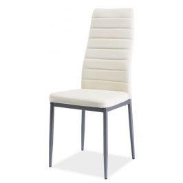 Casarredo Jídelní čalouněná židle H-261 Bis krém/alu