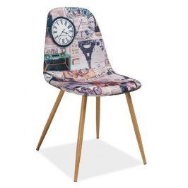 Casarredo Jídelní čalouněná židle CITI Paříž