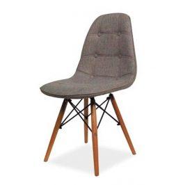 Casarredo Jídelní židle AXEL II šedá/buk Židle do kuchyně