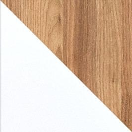 Casarredo EVADO E14 pracovní stůl bílá/ořech