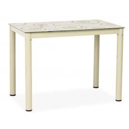 Casarredo Jídelní stůl DAMAR 80x60 krémový