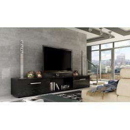 Casarredo TV stolek MALLTON černý lesk