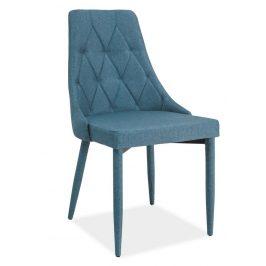 Casarredo Jídelní čalouněná židle TRIX denim Židle do kuchyně