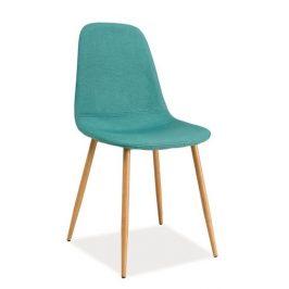 Casarredo Jídelní čalouněná židle FOX mátová