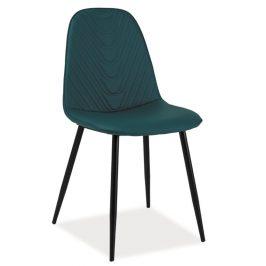 Casarredo Jídelní čalouněná židle TEO A modrá
