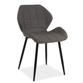 Casarredo Jídelní čalouněná židle HALS šedá