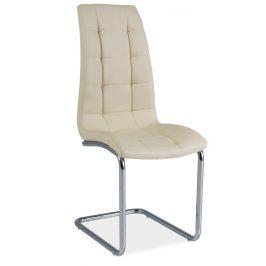 Casarredo Jídelní čalouněná židle H-103 krémová
