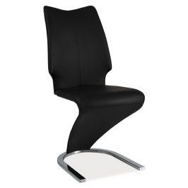 Casarredo Jídelní čalouněná židle H-050 černá