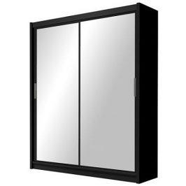 Casarredo Šatní skříň PARIS 160 černá