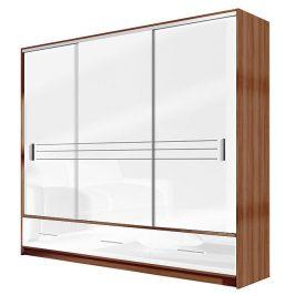 Casarredo Šatní skříň AMSTERDAM 250 bílá