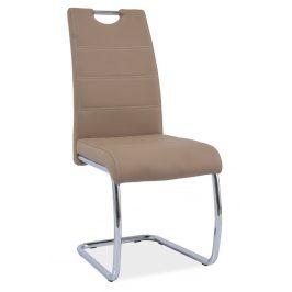 Casarredo Jídelní čalouněná židle H-666 tmavě béžová
