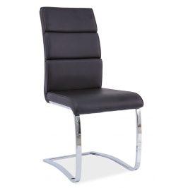 Casarredo Jídelní čalouněná židle H-456 černá