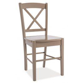 Casarredo Jídelní dřevěná židle CD-56 hnědá Židle do kuchyně