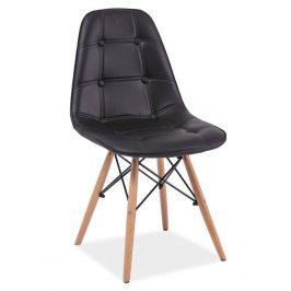 Casarredo Jídelní židle AXEL černá Židle do kuchyně