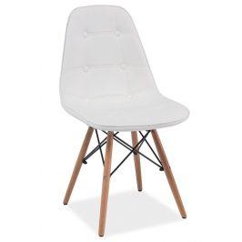 Casarredo Jídelní židle AXEL bílá Židle do kuchyně