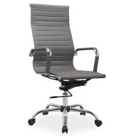 Casarredo Kancelářská židle Q-040 eko šedá Kancelářská křesla