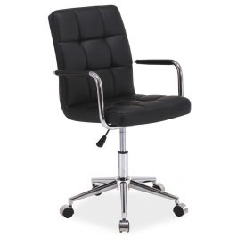 Casarredo Kancelářská židle Q-022 černá Kancelářská křesla