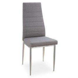 Casarredo Jídelní čalouněná židle H-263 šedá