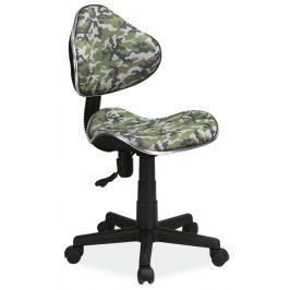 Casarredo Kancelářská židle Q-G2 maskáčový vzor