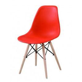 Casarredo Jídelní židle MODENA červená