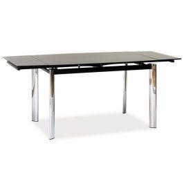 Casarredo Jídelní stůl GD-020 rozkládací černý