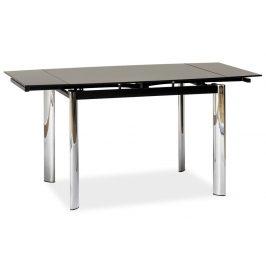 Casarredo Jídelní stůl GD-019 rozkládací černý