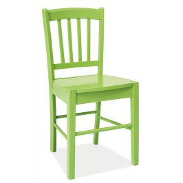 Casarredo Jídelní dřevěná židle CD-57 zelená
